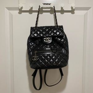 chanel small backpack